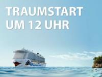 Traumstart ab um 12 mit AIDA Cruises