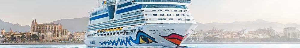 AIDA Kurzkreuzfahrt ab Mallorca <br/> im Mittelmeer
