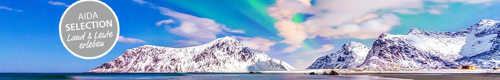 AIDA Selection Nordlichter &<br> Winter im hohen Norden