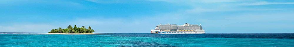 AIDA Karibik Special <br/>zum Sonderpreis mit Flug