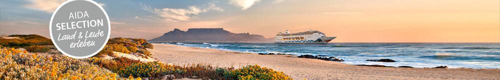 AIDA Kreuzfahrt </br>Südafrika & Namibia